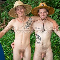 Island Studs: Jeffrey and Micha