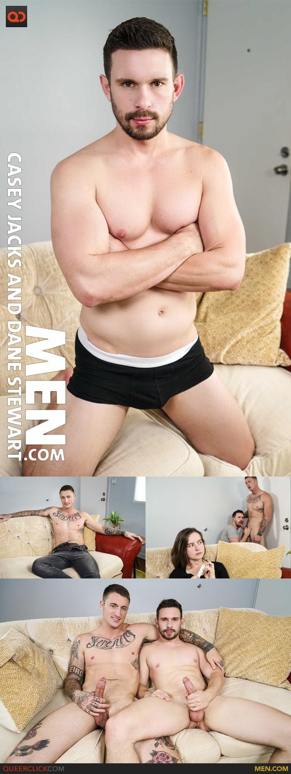 Men.com:  Casey Jacks and Dane Stewart