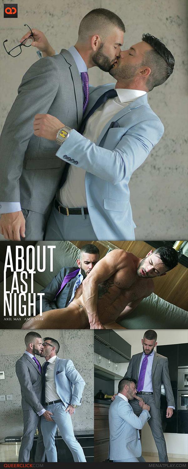 Axel Maax Porno Gay menatplay: axel max fucks andy star - about last night