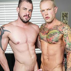 Men.com:  Brett Lake and Darin Silvers