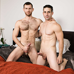 Men.com:  Jacob Peterson and Rick Fantana