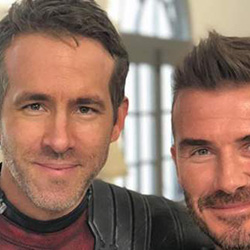 Queer Clicks: September 25 | Everyone Gets Wet in the First Trailer for Courtney Act's New Bisexual Dating Show, David Beckham Sent Ryan Reynolds As Loving Comment On Instagram, & Other News