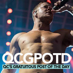 QC's Gratuitous Post Of The Day: Imagine Dragons' Dan Reynolds Is One Hell Of A Hot Hero!