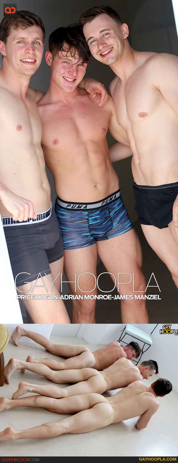 GayHoopla: Price Hogan Adrian Monroe And James Manziel Threesome In Europe