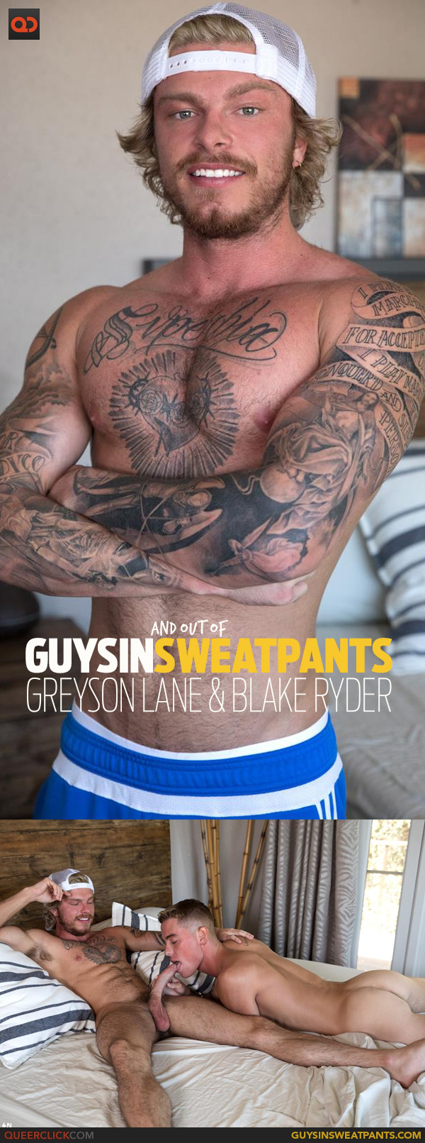 Guys in Sweatpants: Greyson Lane & Blake Ryder