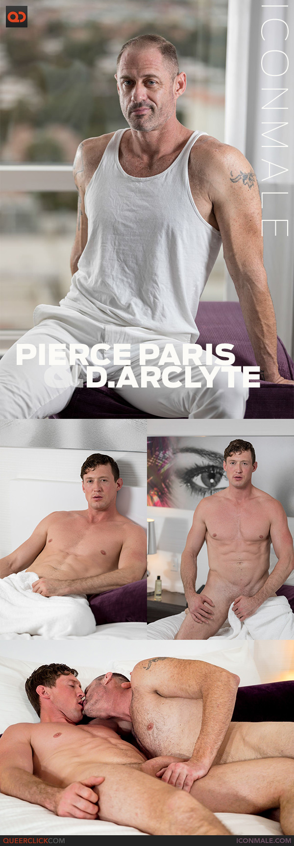 IconMale: Pierce Paris and D.Arclyte