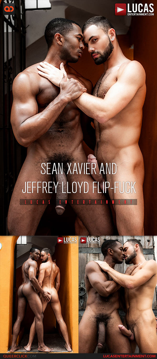 Lucas Entertainment: Jeffrey Lloyd and Sean Xavier Flip Fuck Bareback