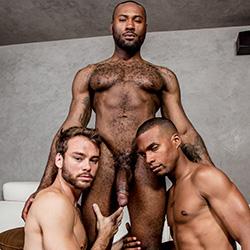 Noir Male: Noah Donovan, Max Adonis and Jacen Zhu