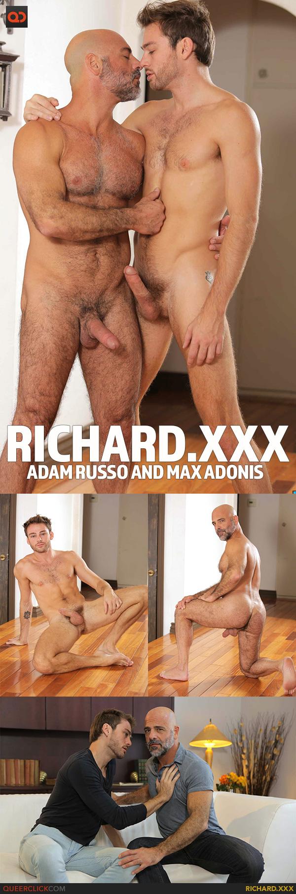 Richard.XXX:  Adam Russo and Max Adonis