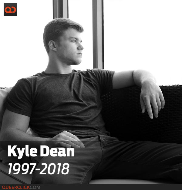 Adult Star Kyle Dean Passed Away at 21