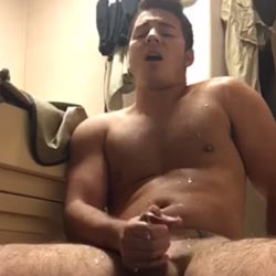 Sweet Rough Boy Works Hard For That Milk To Squirt!