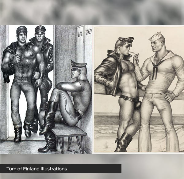 Tom-of-Finland-Illustrations