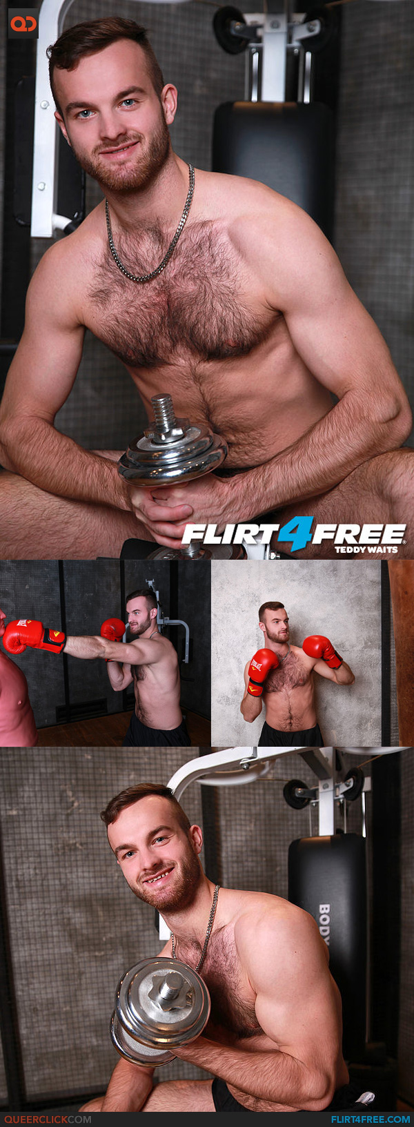 Flirt4Free: Teddy Waits
