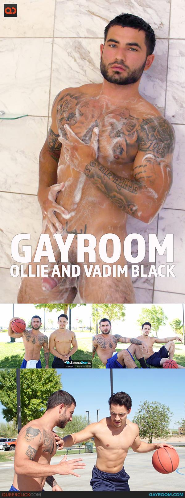 GayRoom: Ollie and Vadim Black