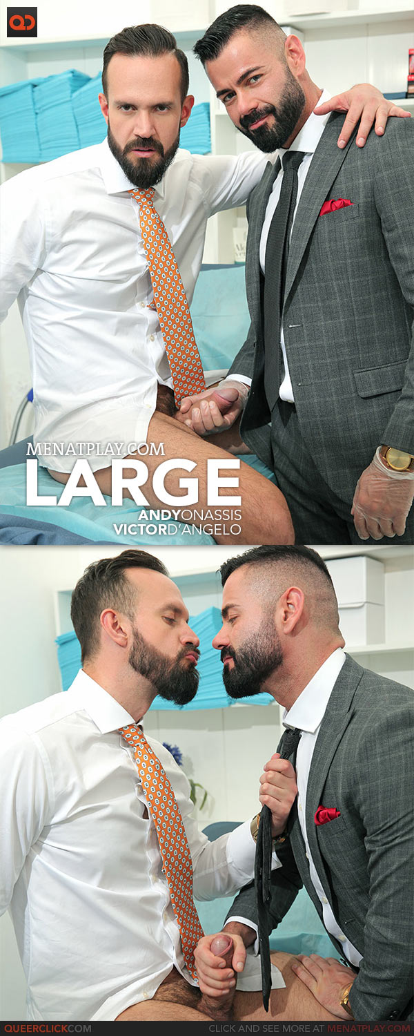 MenAtPlay: Large - Victor D'Angelo and Andy Onassis
