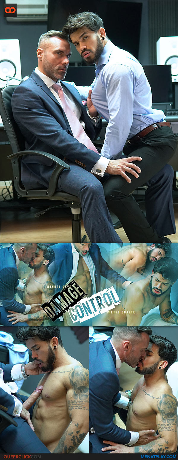 Men At Play: Manuel Skye Fucks Pietro Duarte - Damage Control