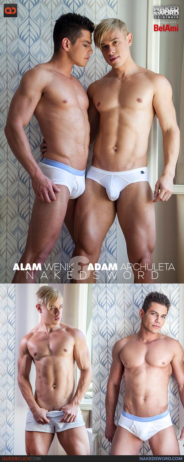 Naked Sword: Alam Wenik and Adam Archuleta