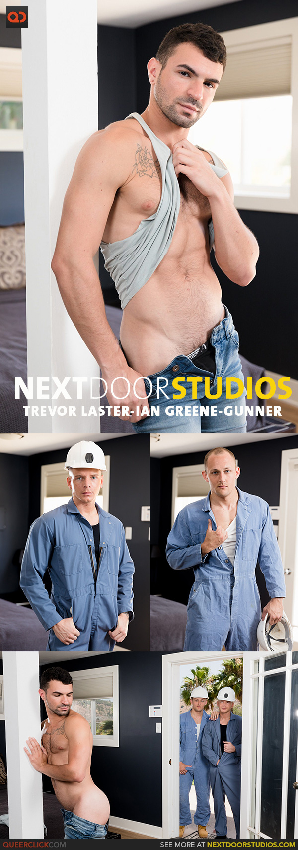 Next Door Studios:  Trevor Laster, Ian Greene and Gunner