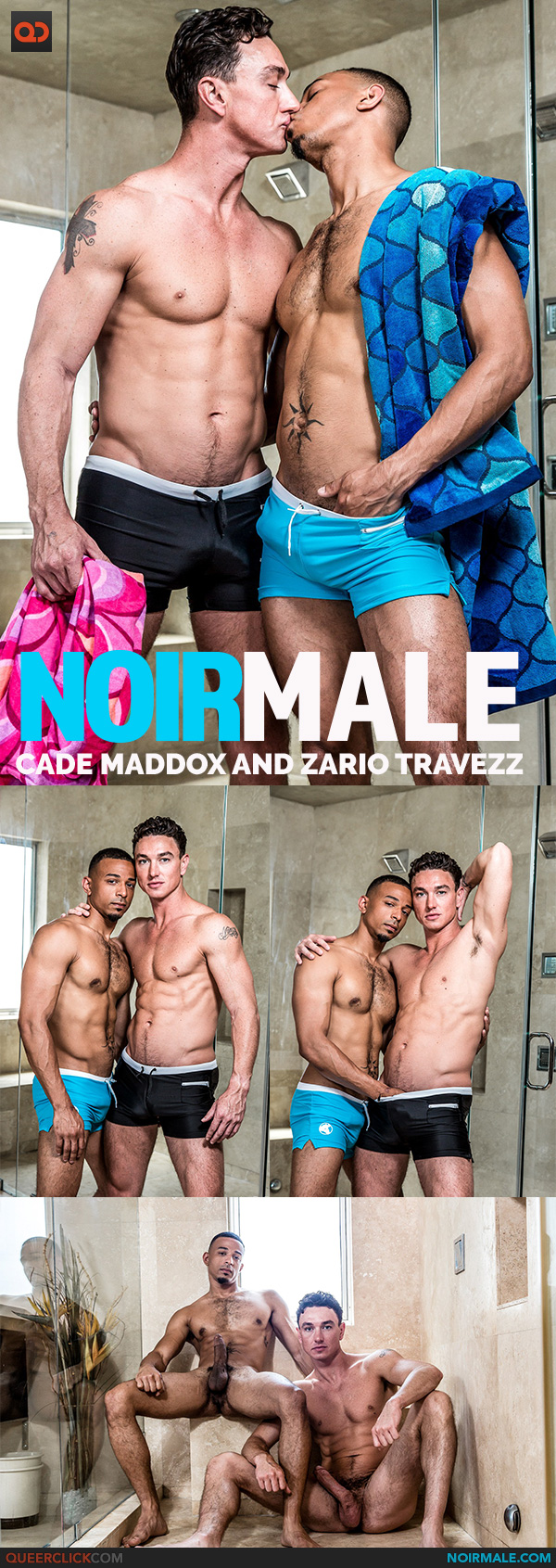 Noir Male: Cade Maddox and Zario Travezz