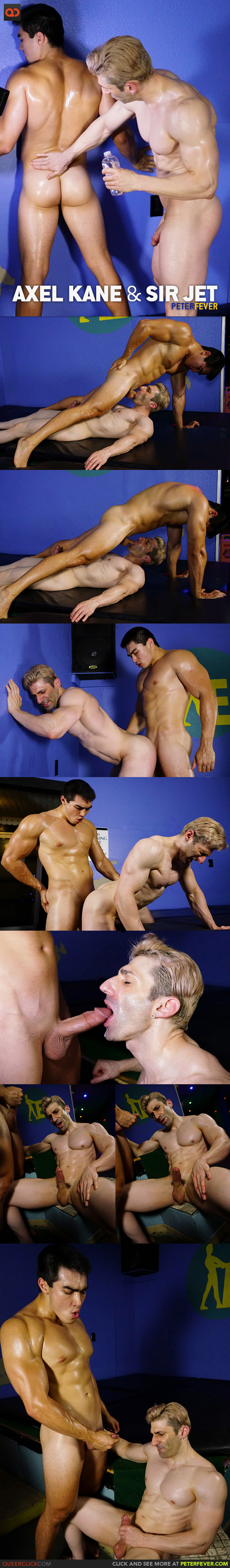 Peter Fever: Axel Kane And Sir Jet