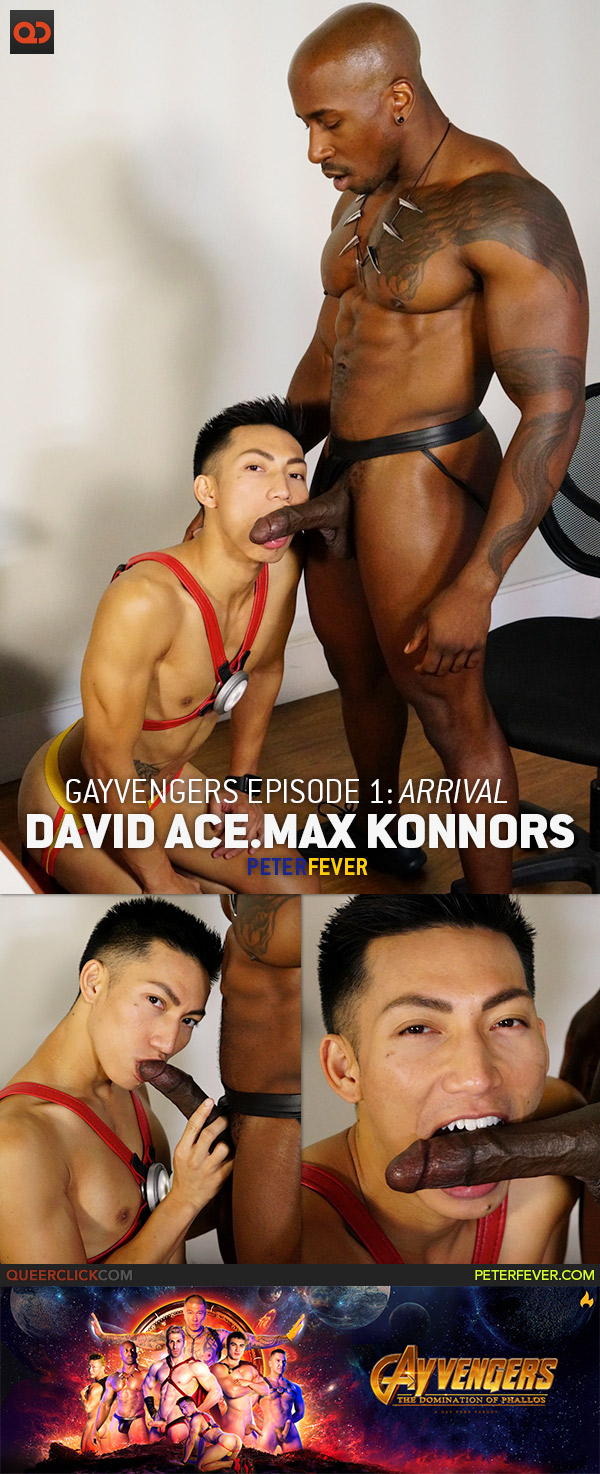 Peter Fever: Gayvengers Episode 1 - David Ace And Max Konnor