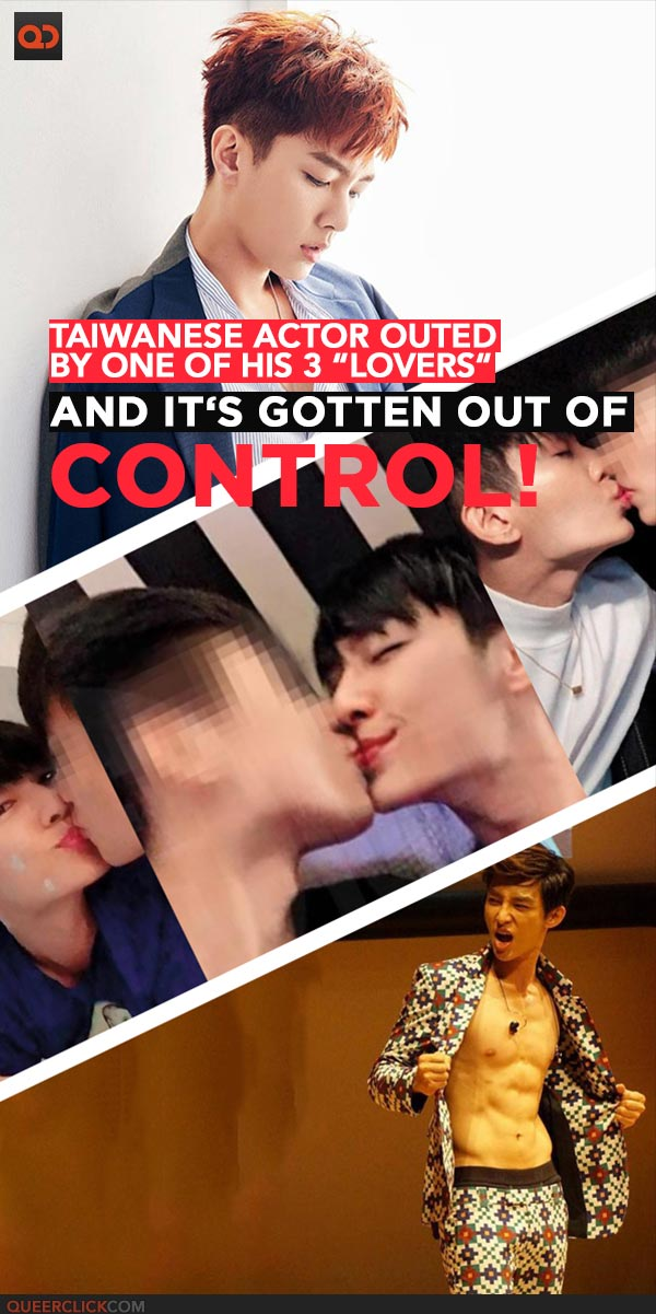 Taiwanese Actor Aaron Yan Outed By One Of His 3