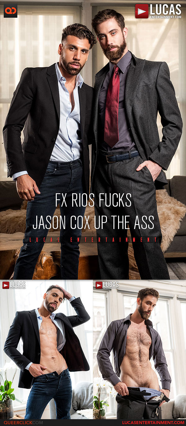 Lucas Entertainment: FX Rios Fucks Jason Cox Bareback