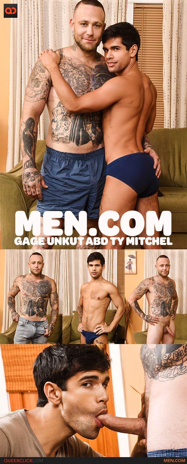 Men.com:  Gage Unkut and Ty Mitchel