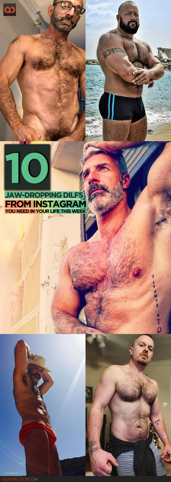 Ten Jaw-Dropping DILFs From Instagram You Need In Your Life This Week!