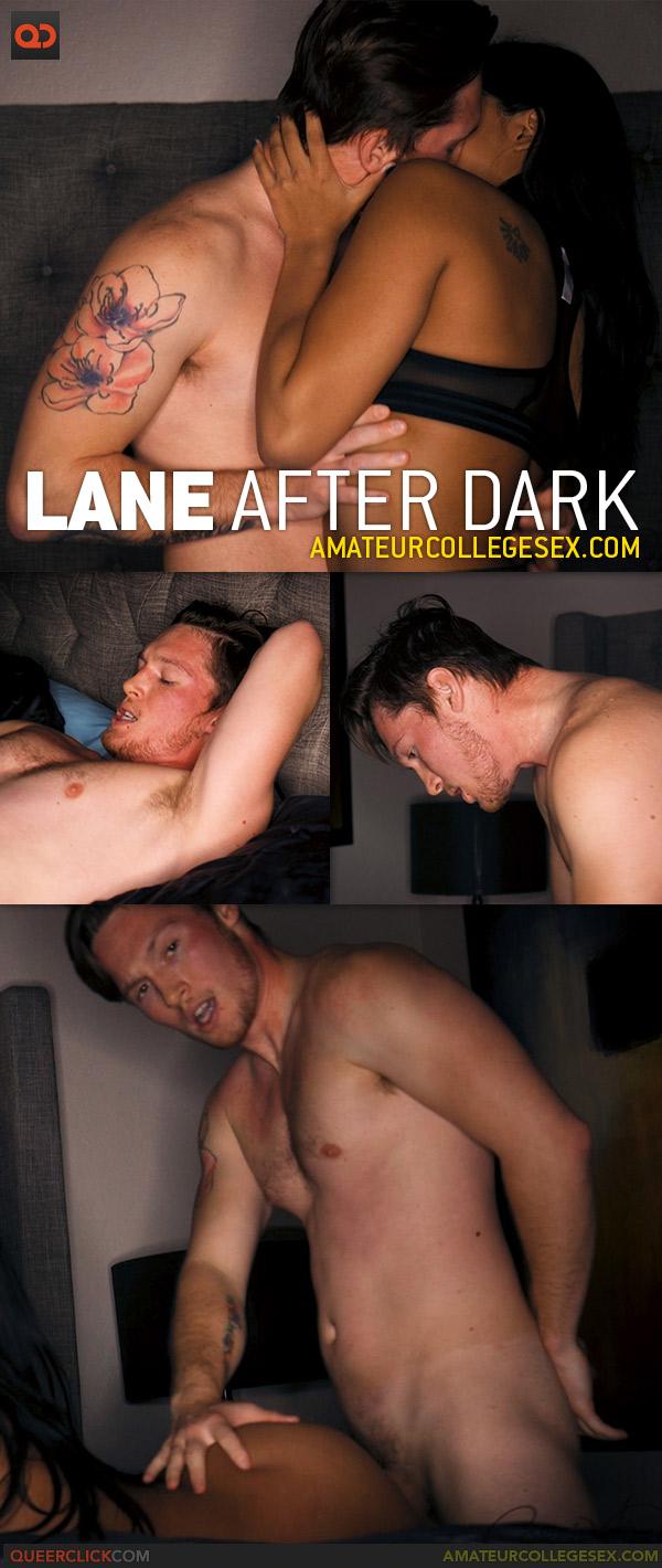 Amateur College Sex: Lane After Dark