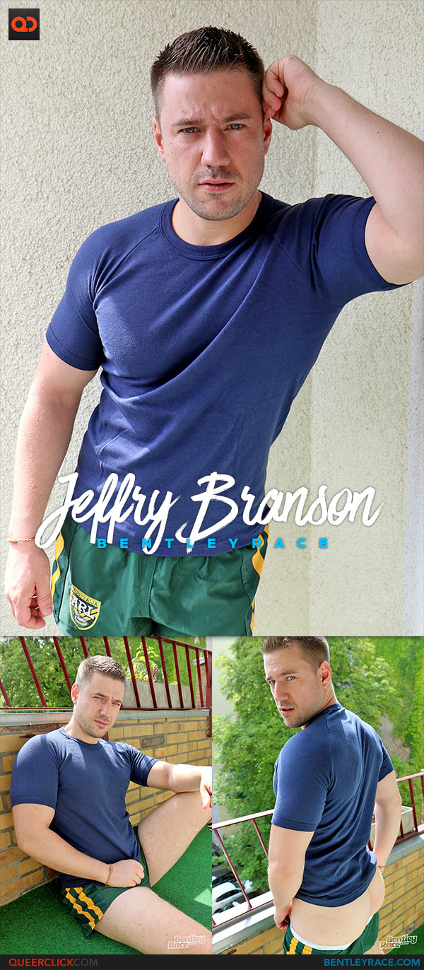 Bentley Race: Jeffry Branson is Back Stripping on the Balcony