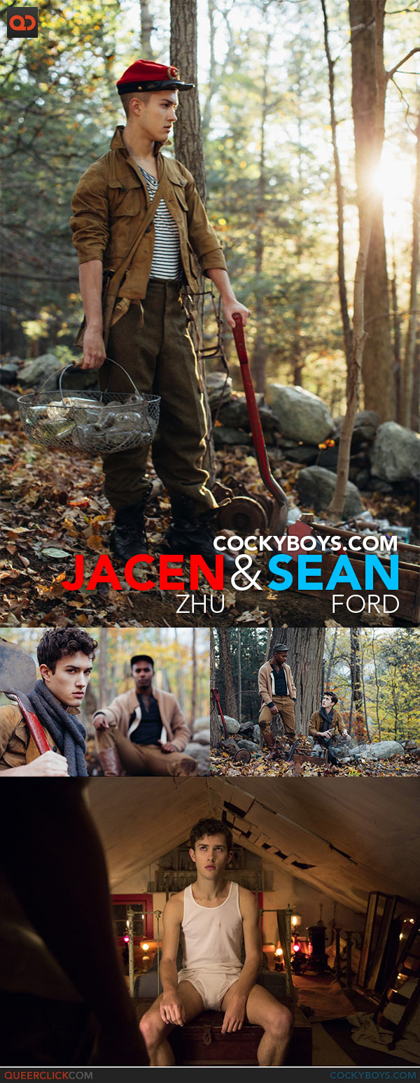 Cocky Boys: Jacen Zhu and Sean Ford