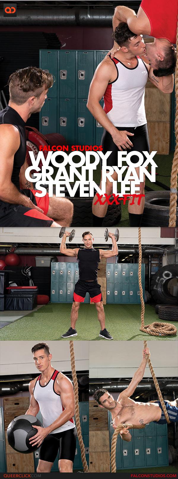 Falcon Studios: Woody Fox and Steven Lee Fuck Grant Ryan - XXX-Fit