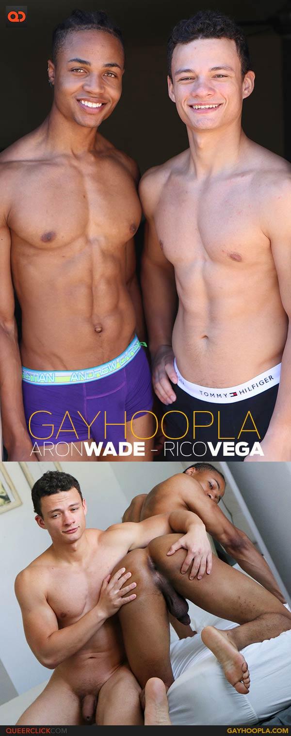 GayHoopla: Baron Wade FUCKS Rico Vega