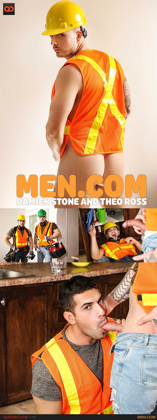 Men.com: Damien Stone and Theo Ross