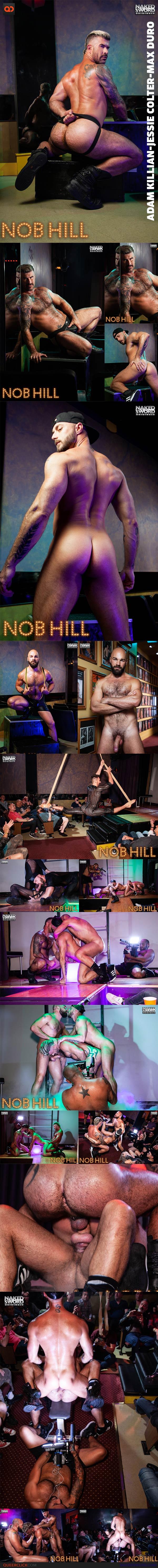 Naked Sword: Adam Killian, Jessie Colter & Max Duro
