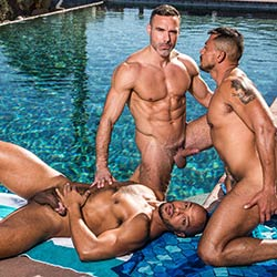 Noir Male: Dillon Diaz , Deep Dicc, Manuel Skye and Nico Santino
