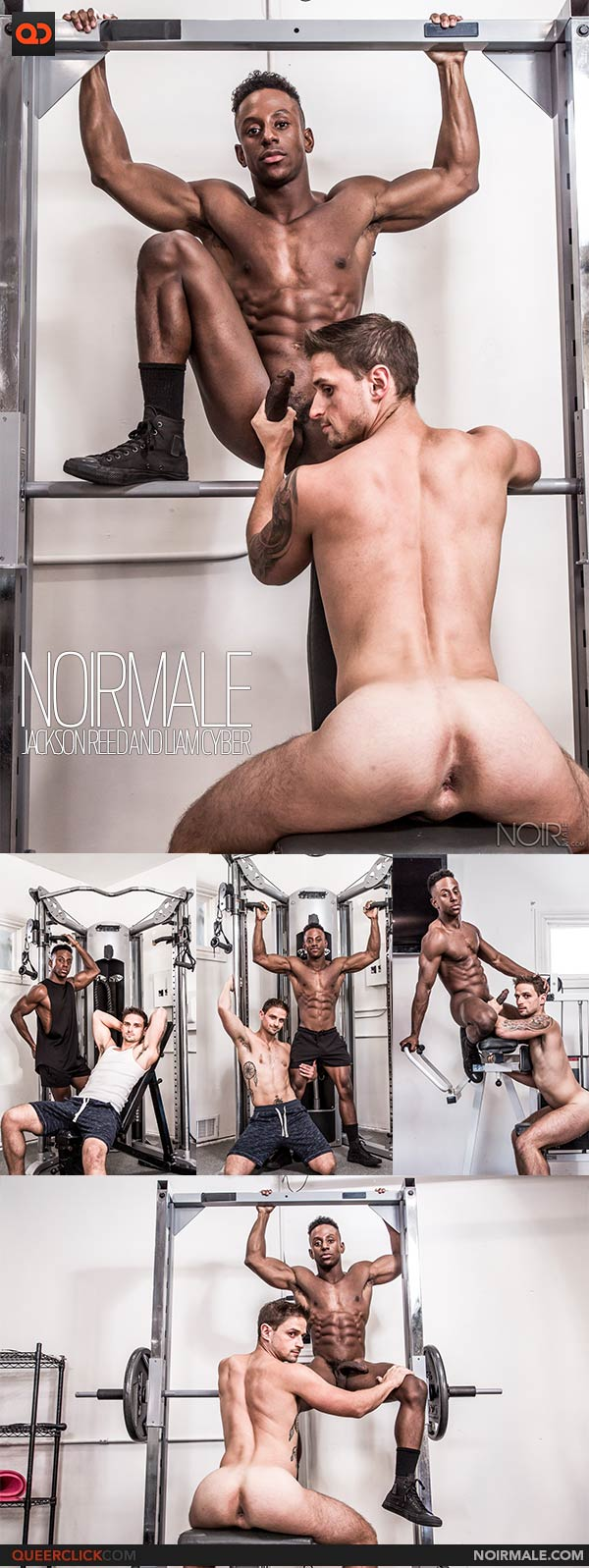 Noir Male: Jackson Reed and Liam Cyber