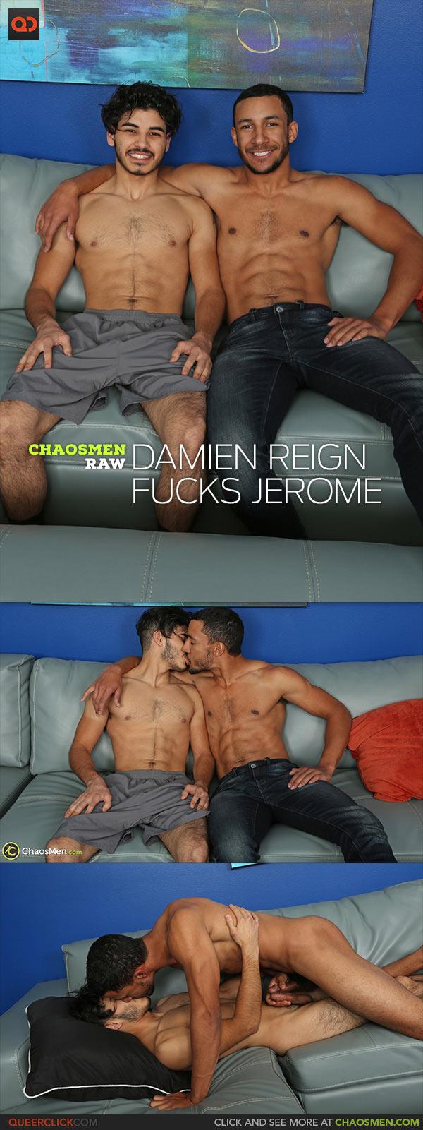 ChaosMen: Damien Reign Fucks Jerome - Bareback