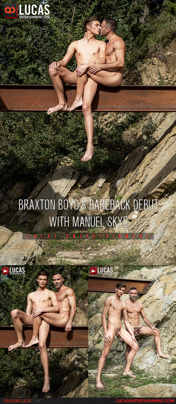 Lucas Entertainment: Manuel Skye Fucks Braxton Boyd - Bareback