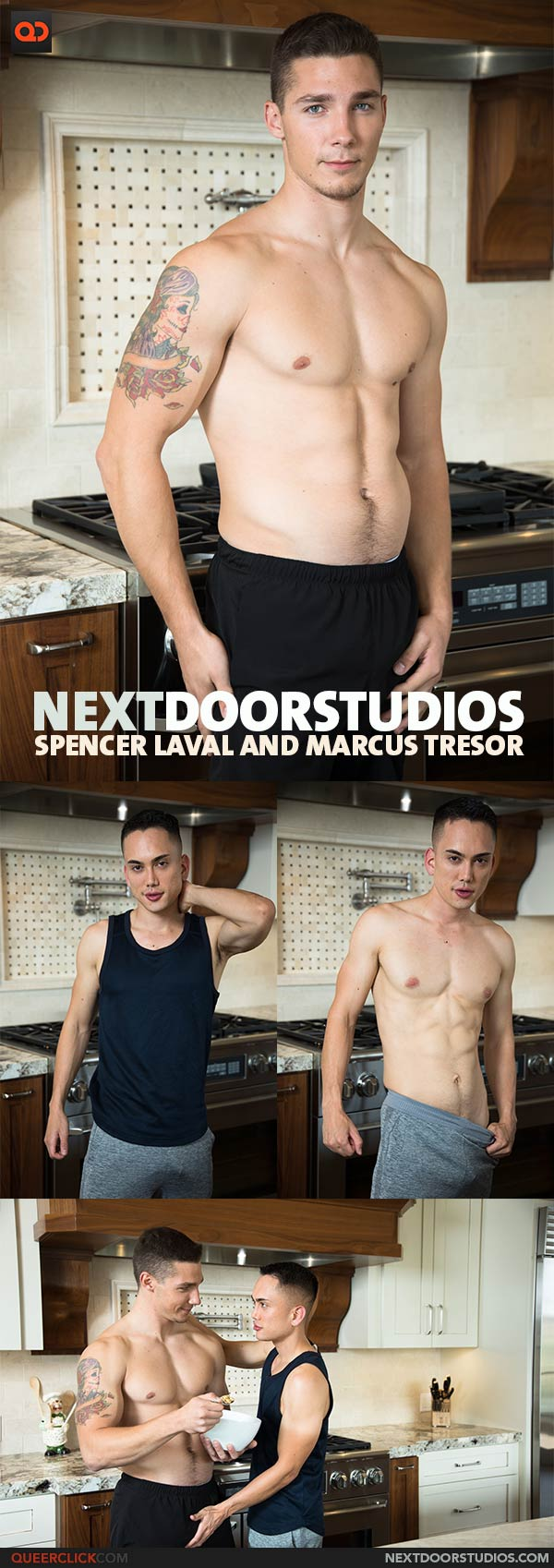 Next Door Studios:  Spencer Laval and Marcus Tresor