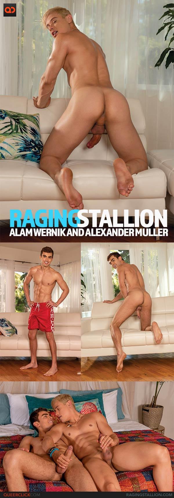 Raging Stallion: Alam Wernik and Alexander Muller