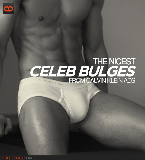The Nicest Celeb Bulges From Calvin Klein Ads