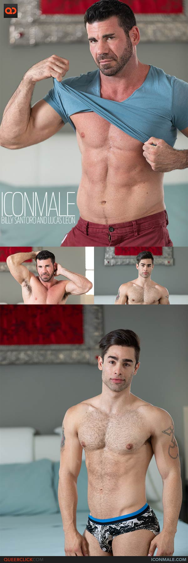IconMale: Billy Santoro and Lucas Leon