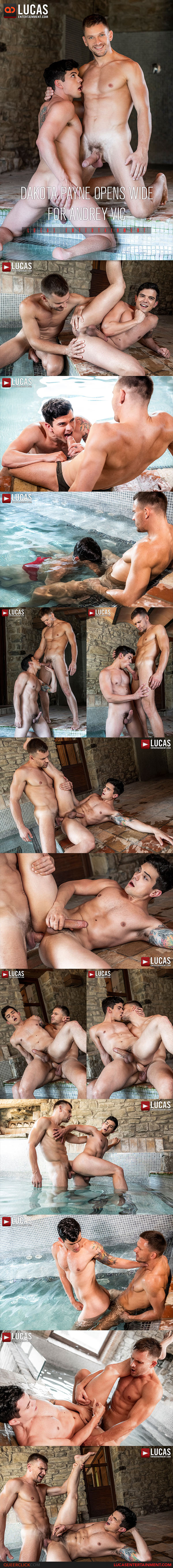 LucasEntertainment: Andrey Vic Fucks Dakota Payne - Bareback