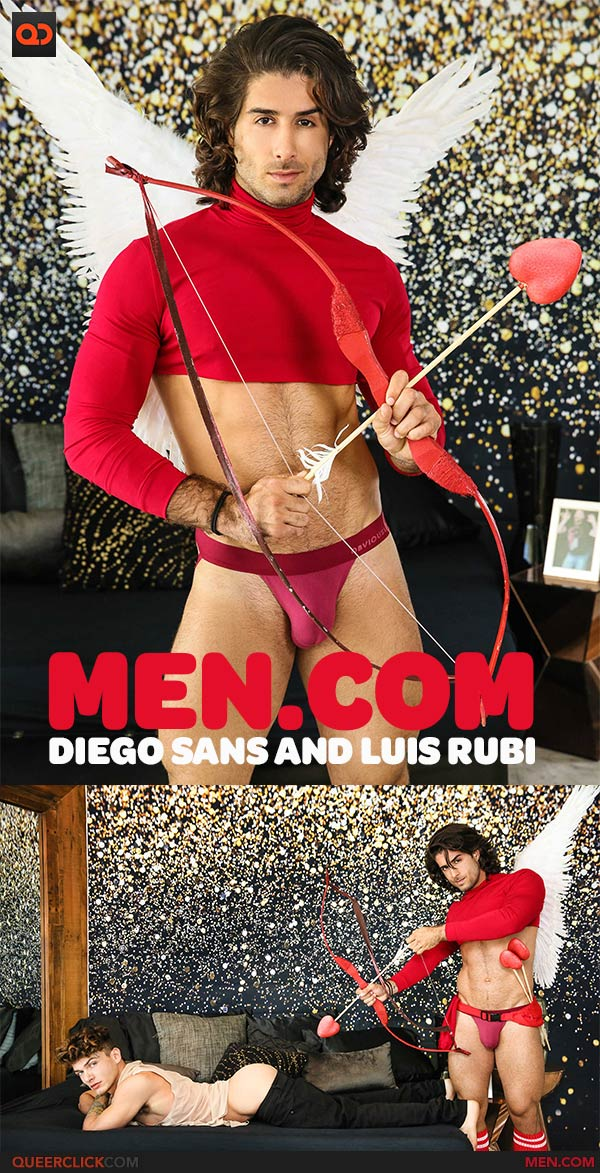 Men.com:  Diego Sans and Luis Rubi