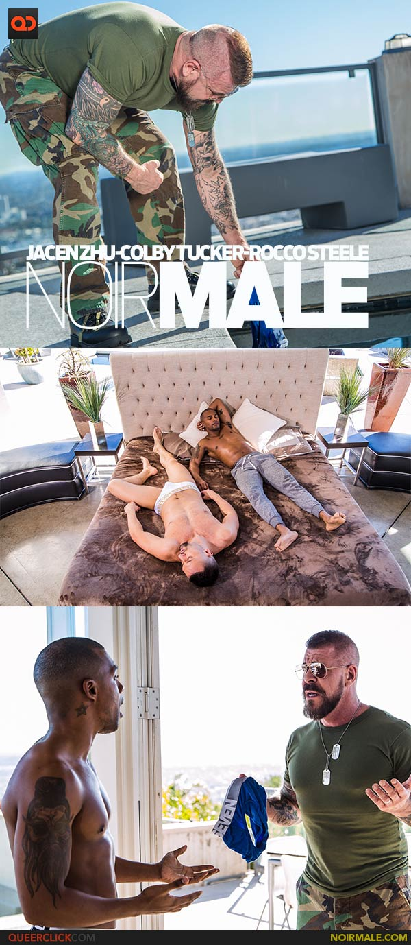 NoirMale: Jacen Zhu, Colby Tucker and Rocco Steele