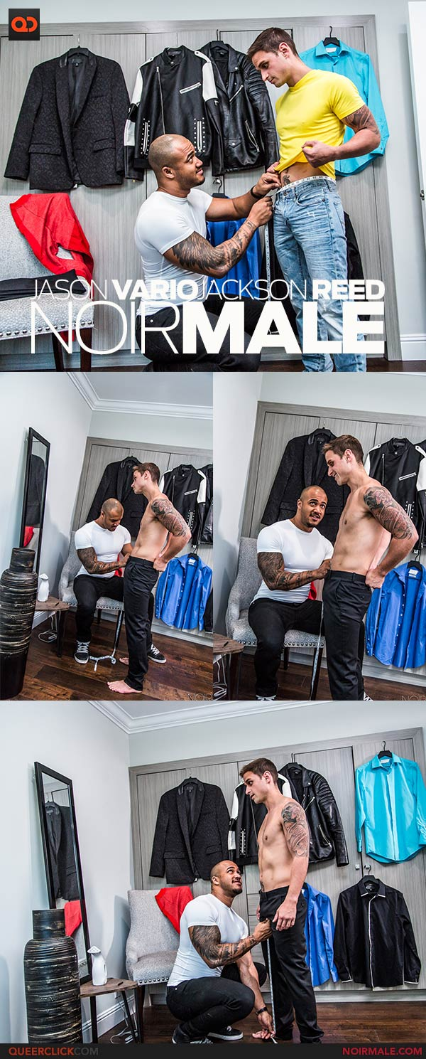 Noir Male:  Jason Vario and Jackson Reed