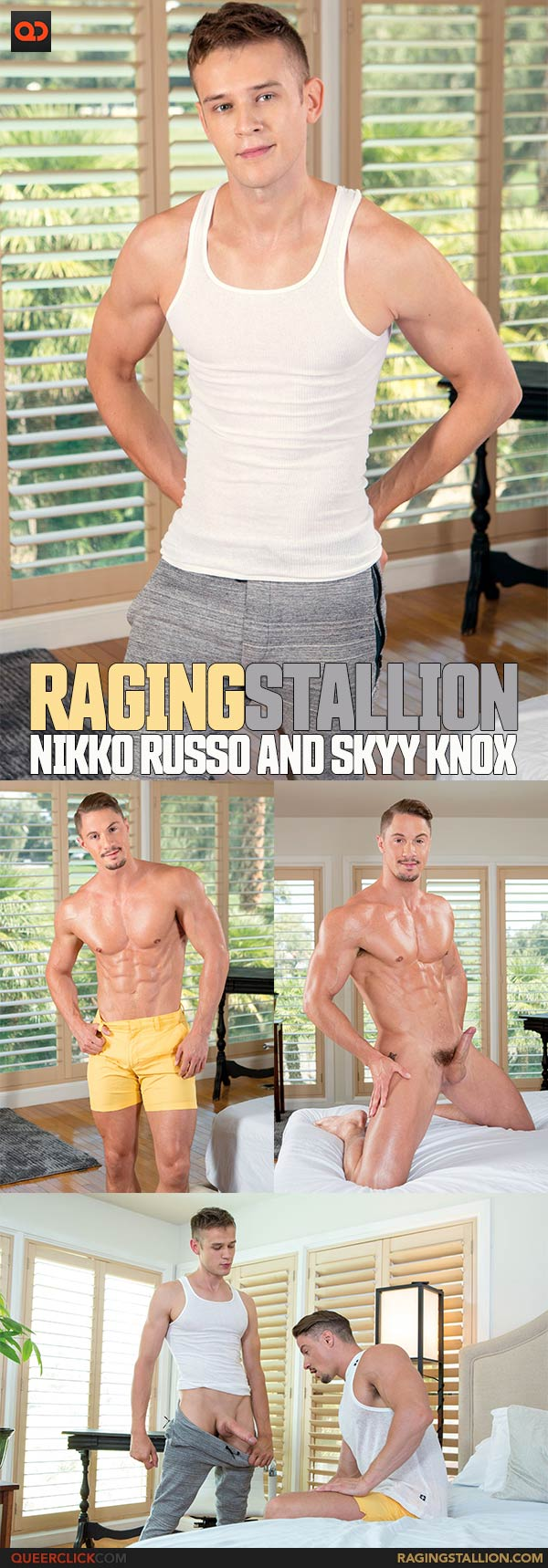 Raging Stallion: Nikko Russo and Skyy Knox