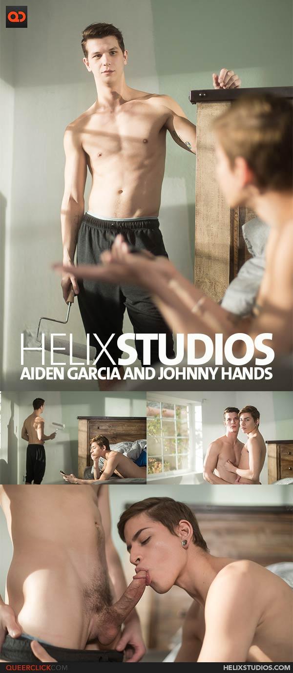 Helix Studios: Aiden Garcia and Johnny Hands
